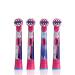 ブラウン(ブラウン)EUROb子供用電動歯ブラシヘッド3-6歳12歳柔らかい毛oral-b歯ブラシヘッドと氷と雪の女王4つのセットを交換できます。